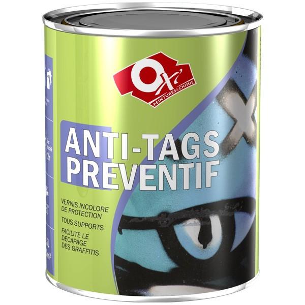 Vernis anti graffiti resine de protection pour peinture for Peinture resine deco