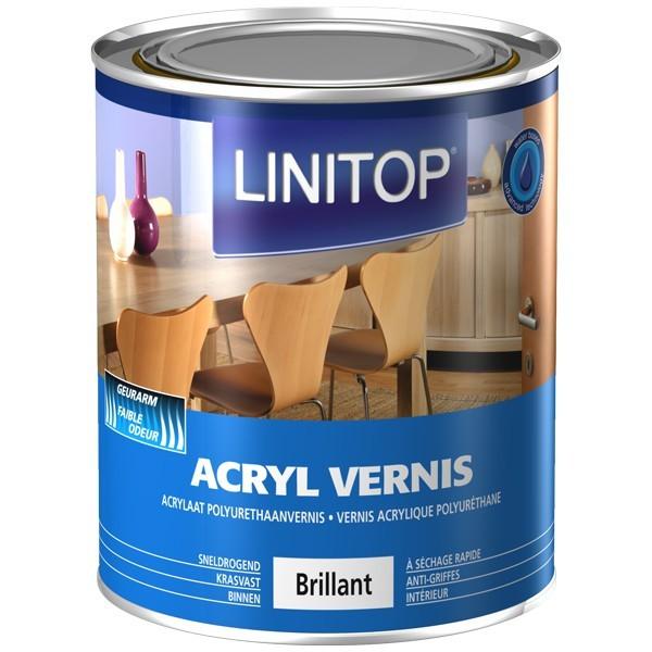Acryl vernis vernis acrylique polyur thane int rieur en phase aqueuse - Vernis sur peinture acrylique ...