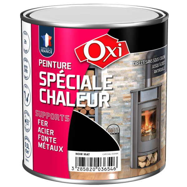 oxi peinture sp ciale chaleur peinture antirouille r sistante jusqu 200 c. Black Bedroom Furniture Sets. Home Design Ideas